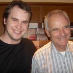 Chris and Sir Peter Maxwell Davies