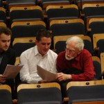 5.Chris Williams, Gordon Hamilton and Nigel Butterley, Workshop Rehearsal with the Australian Voices 2010